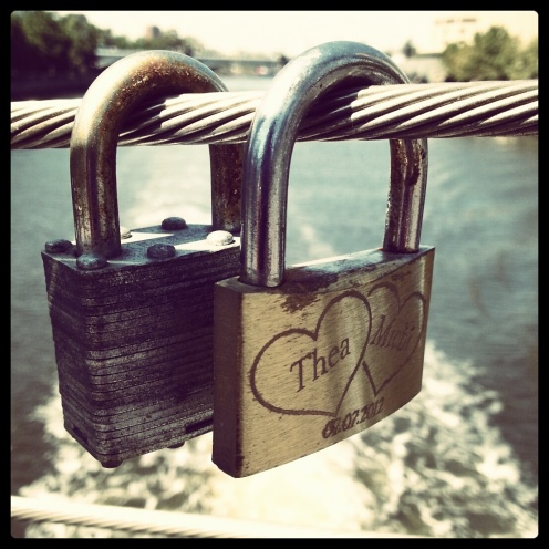 lock things over the Yarra